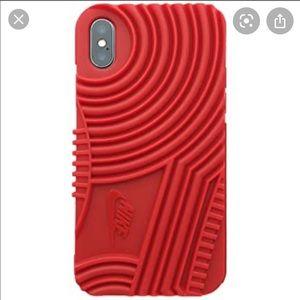NIB NIKE AIR FORCE 1 IPHONE X CASE